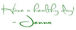 Jenna Signature